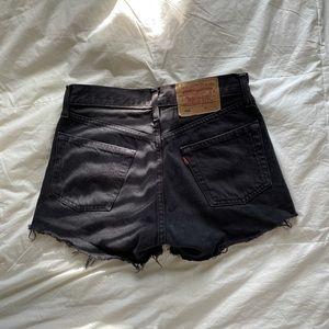 Vintage Levi Raw-Hem Shorts